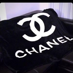 New Chanel Fleece Blanket